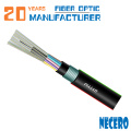porta de fora encalhado cabo de fibra óptica blindado tubo solto GYTY53