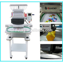 Computer 1 head/ 15 needle/ 15 color hat & flat embroidery machine (EG1501CS)