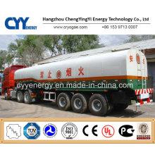 China 2015 Tanker LNG Lox Lin Lar Semi Trailer mit ASME GB Standards