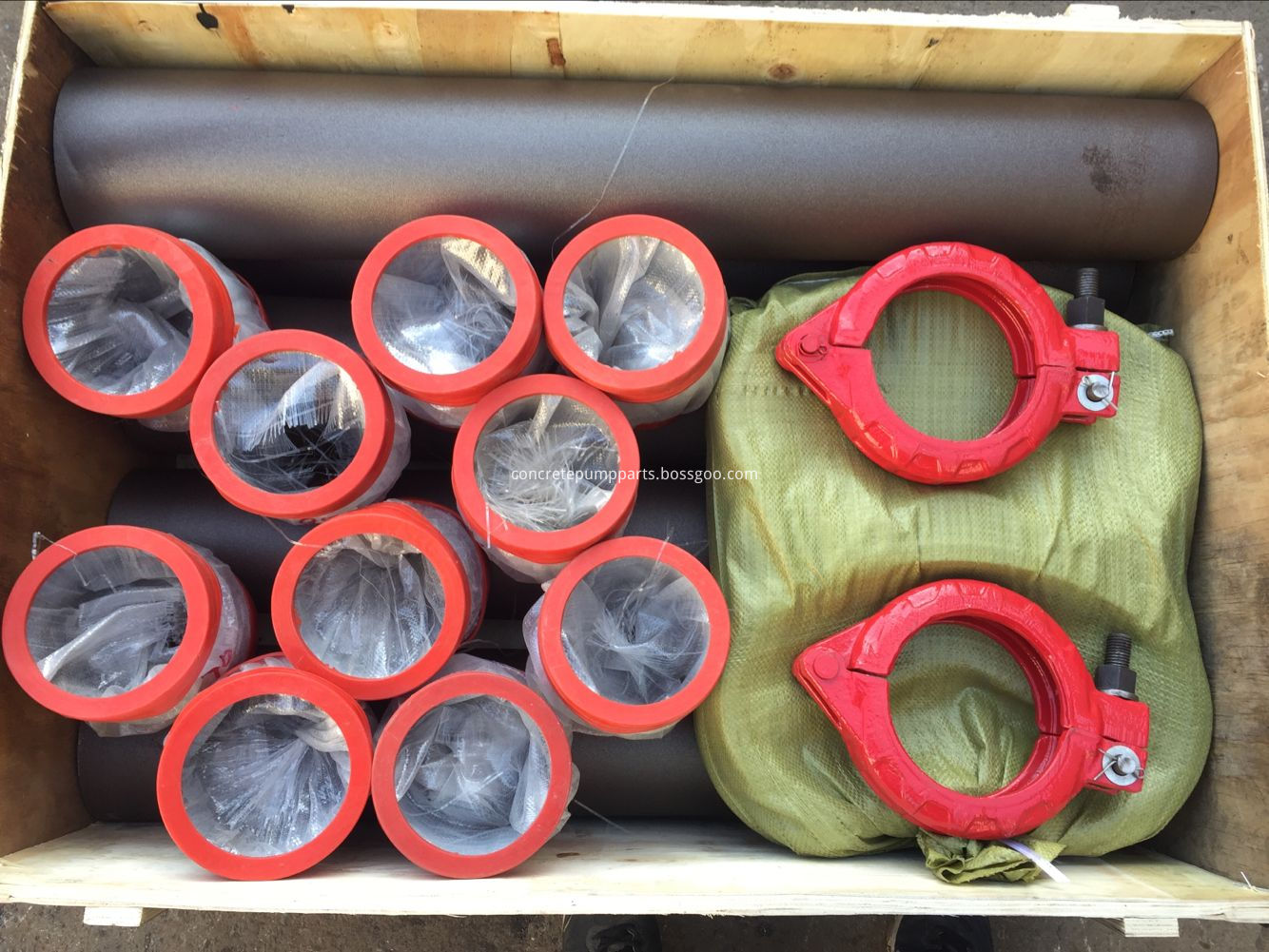 concrete pump parts reducer and clamp coupling package