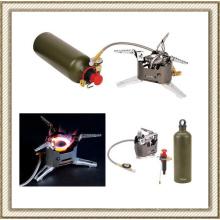 Portátil Multi combustível ao ar livre mochila campismo piquenique fogão forno a gás de petróleo