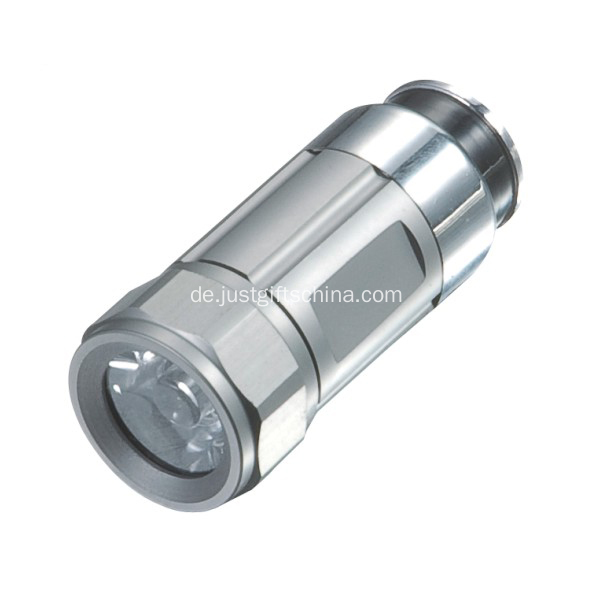 Werbeartikel Mini Car Charging Torch Aluminium Made