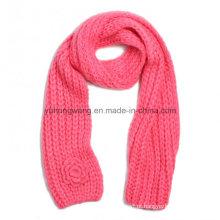 Atacado Handmade acrílico malha Crochet cachecóis, lenço