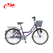6 Geschwindigkeit New Style Beliebte stahlrahmen fahrrad dame / erwachsene straße Vermietung stadt fahrradrennen / günstige urban bikes zum verkauf