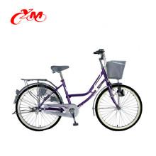 6-ступенчатая новый стиль популярные стальная рама велосипеда дамы / взрослый дороге Аренда город гоночный велосипед / дешевые городские велосипеды для продажи