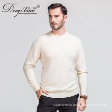 Aceptar la orden de la muestra Spring Warm Woollen O-Neck Pullover Hombre Sweater 2017