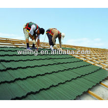 stone coated roof tile sheet