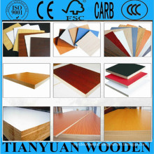 Melamine Laminated Colored MDF