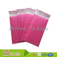 Custom Made Color Printed Widely Used Pink Self Seal Water Proof Mailing Shipping Small Bubble Envelopes