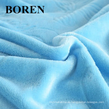 100% Baumwolle Flanell Stoff Komfortable und billige Stoff für Bettwäsche und Pyjamas