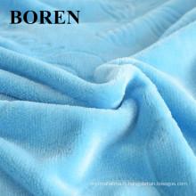 Tissu 100% coton flanelle Tissu confortable et bon marché pour la literie et le pyjama