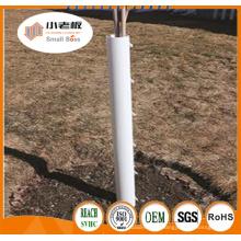 Tubo de protección de plástico / protector de árbol de plástico estriado