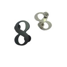 Clothing Hardware Custom Numbers Metal Label Pin Badge
