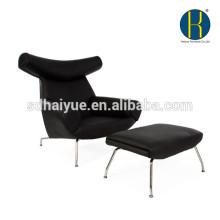 Salón de lujo Hans Wegner chaise chair silla de cuerno de buey