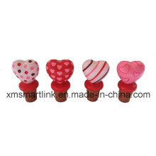 Valentine′s Bottle Stopper, Valentine′s Gifts