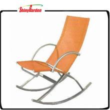 Chaise berçante inclinable de pli d'inclinaison élégante de plage