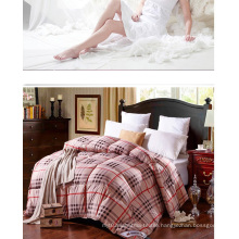Printed Bedding Quilts Cotton/Polyster Bed Quilt F1846