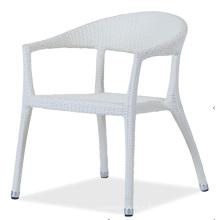 PE do Rattan ao ar livre cadeira de espaldar alto
