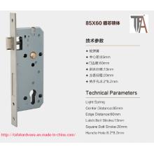Cuerpo de la cerradura de la puerta de la mortaja de la alta calidad 85 * 60