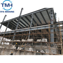 steel space frame warehouse construction building