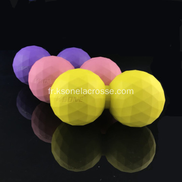 boule de massage en caoutchouc et arachide massage yoga Ball