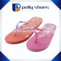 Красный Тонкий Печатных Флип-Флоп Сандалии Обувь Размер 8