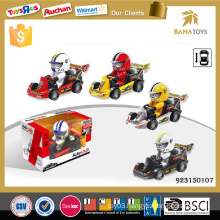 Cheap plastic toy inertia go kart car prices