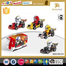 Preços de automóveis baratos de injeção de brinquedo de plástico kart