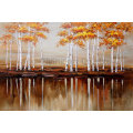 Impressionism Oil Painting for Trees