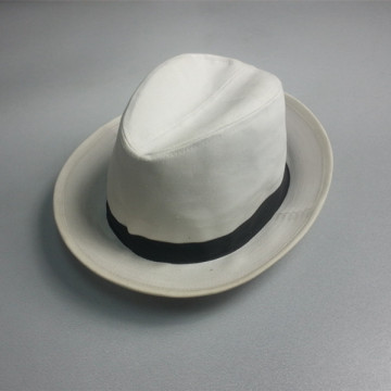 High Quality 100% Cotton Fedora Hat
