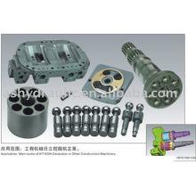 Piezas de bomba de pistón hidráulica de Hitachi HPV de HPV102, HPV105, HPV118