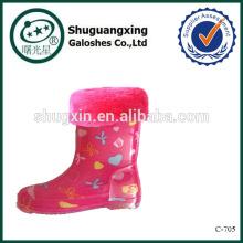 доказательство обуви дождевик для дети дождя сапоги фабрика зимние/C-705