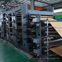 Bolso de papel del cemento de la alta calidad que hace la máquina para el embalaje
