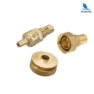 Professional CNC Turning Service Brass Parts