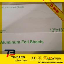 """Caja de color por encargo popular del nuevo estilo Hojas de aluminio de la hoja del estallido-para arriba 12 """"x 10.75"""" 30.48cm x 27.3cm"""