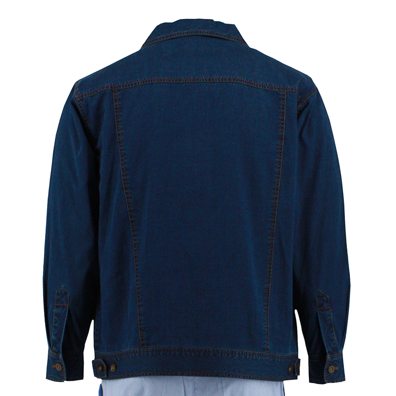 Man's Fashion Long Summer Denim Jacket