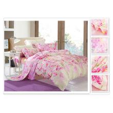 40 * 40s 133 * 72 реактивная печать Чистое романтическое постельное белье Tencel