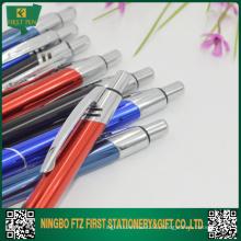 Дешевые канцелярские металлические ручки