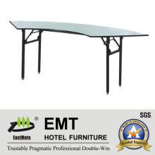Hotel Banqueting Hall Foldable Banquet Table (EMT-FT604)