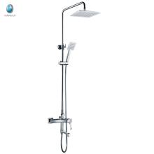 Douche de pluie de salle de bains de mur chaud de KDS-16, douche de salle de bains préfabriquée