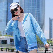 Women Breathable Cool Skin Clothing Simple Outdoor Sports Sunscreen Suit