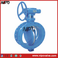 Carbon Steel Flanged Triple Eccentric Butterfly Valve