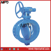 Carbon Steel Flanged Triple Exzenter Butterfly Valve