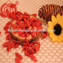 Ningxia cultivation goji certified dried goji berry organic