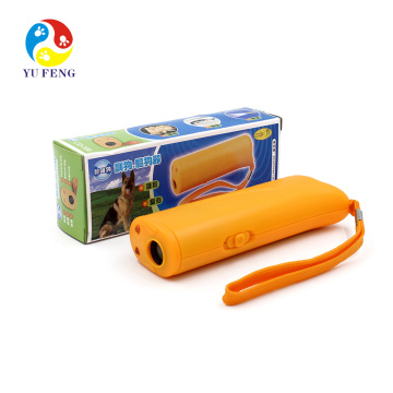 High Power Powerful Battery Electronic Self Defense Portable Handheld Ultrasonic Pet Dog Bark Deterrent Repeller