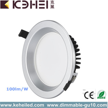 18W 6 Inch Lighting Fixture LED Downlights Flach