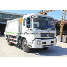 4X2 Tianlan 10mt 12mt Compression Garbage Truck