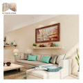 top quality 3d interior woven vinyl wall paper for home