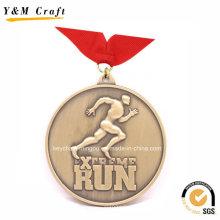 Divers placage de Bronze Run Sport Médaille YM1169
