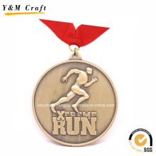 Various Bronze Plating Run Sport Medal YM1169